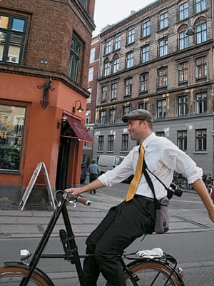 Big Picture, bikes: Big Picture: man cycling wearing a flat cap