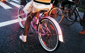 Big Picture, bikes: Big Picture: girl on a bike