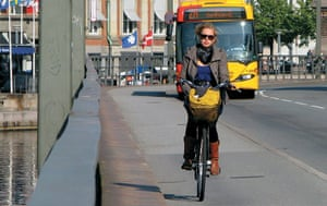 Big Picture, bikes: Big Picture: girl cycling on a path