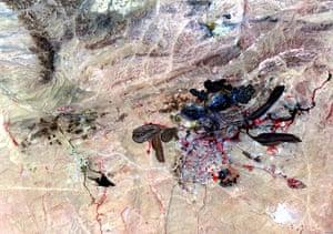 Satellite Eye on Earth: Rare Earth Bayan Obo mine