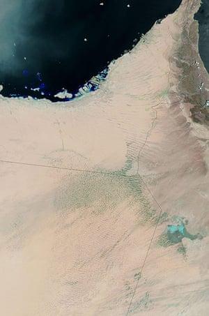 Satellite Eye on Earth: Torrential rains caused flooding in parts of Saudi Arabia