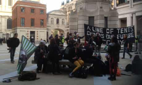 Occupy protesters LSE