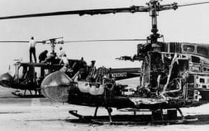 Munich: Helicopter Wreckage