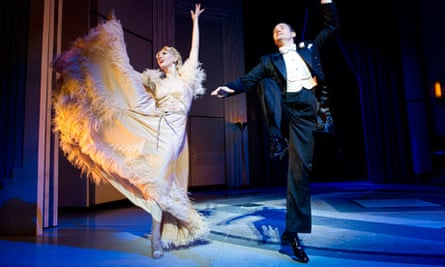 Tom Chambers and Summer Strallen in Top Hat at the Aldwych, London