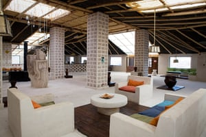 Bolivia travel: Inside the hotel in the Salt Flats, Bolivia