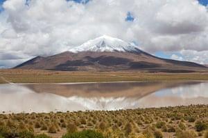 Bolivia travel: The beautiful scenery in the Altiplato region of Bolivia