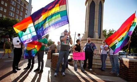 democrat platform same sex marriage in Hampton