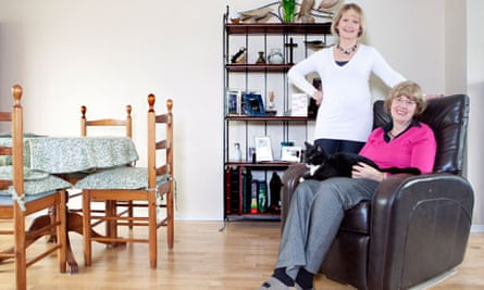 Home letting: Jill and Eileen