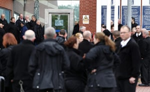 Public Sector strikes: Prison staff take part in a protest outside HMP Manchester