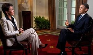 Robin Roberts interviews Barack Obama