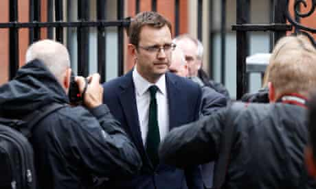 Andy Coulson leaves Leveson inquiry