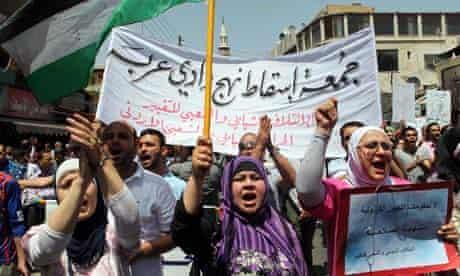 Jordan protesters