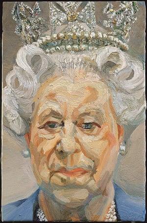 he Queen: Art and Image: Queen Elizabeth II by Lucian Freud