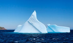 Iceberg in Witless Bay, Newfoundland
