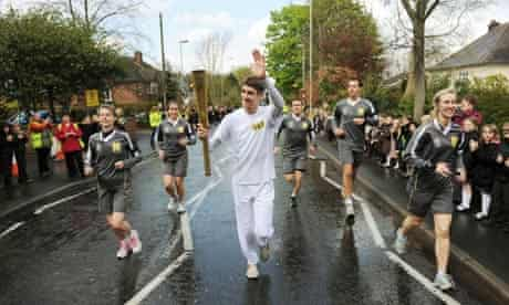 guardian olympic torch relay
