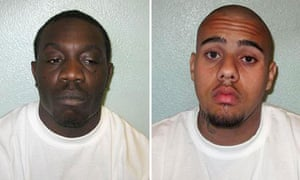 Horace Campbell, 28, and Liam Douglas-O'Callaghan 18