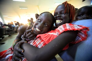 24 hours: Khartoum, Sudan: South Sudanese waiting to be flown back to their country