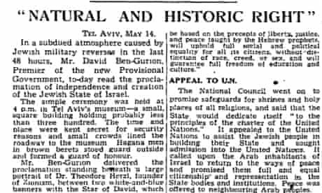 Manchester Guardian, 15 May 1948.
