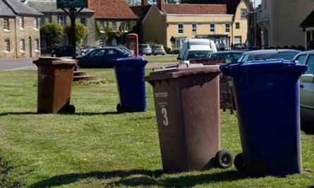 Wheelie bins council services bleak future