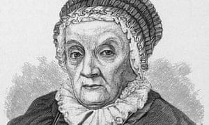 Portrait of astronomer Caroline Herschel