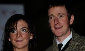 Bradley Wiggins and Catherine