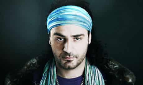 Iranian rapper Shahin Najafi