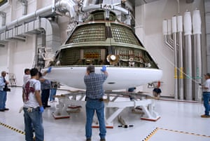 A month in space: A test version of Orion