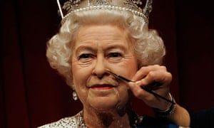Tussauds waxwork Queen