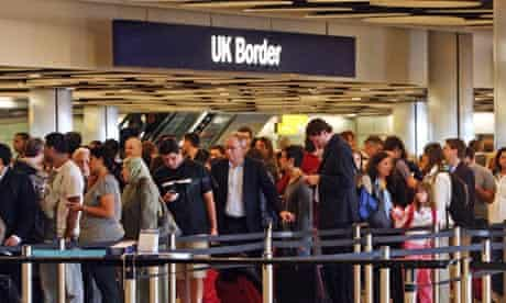 Heathrow immigration queues