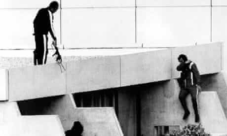 Terrorist attack on Israeli athletes at Munich Olympics