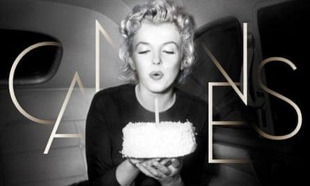 Cannes festival poster Marilyn Monroe