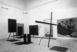British pavilion: Five Young British Artists exhibition from 1966