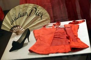 ballgowns at the V&A: Christian Dior designs