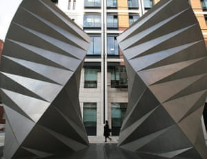 Heatherwick: Vents to a substation cooling system at Paternoster Square, London