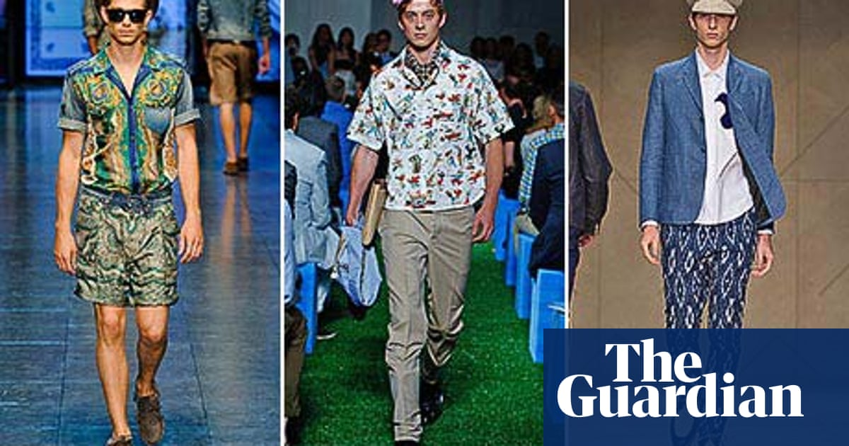 55d9688d Are British men ready to wear prints? | Fashion | The Guardian