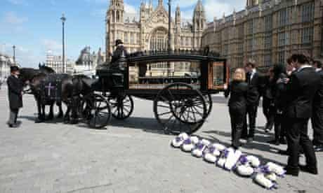 Science for the Future's mock funeral