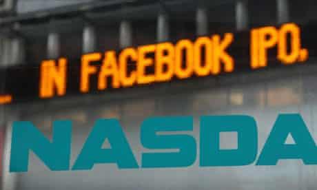 Facebook IPO, Nasdaq, New York