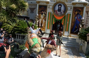 """Cannes film festival: """"The Dictator"""" at 65th Annual Cannes Film Festival"""