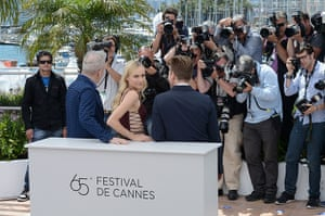 Cannes film festival: Ewan McGregor, Diane Kruger and  Jean-Paul Gautier, Cannes
