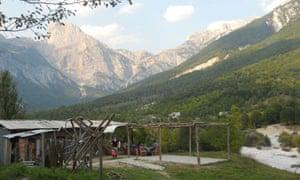 Accursed Mountains, Albania