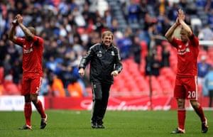 Kenny Dalglish: Liverpool v Everton - FA Cup Semi Final