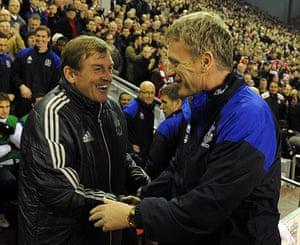 Kenny Dalglish: Liverpool v Everton - Premier League