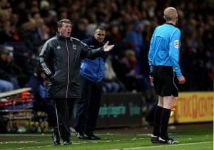 Kenny Dalglish: Bolton Wanderers v Liverpool - Premier League