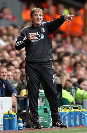 Kenny Dalglish: Liverpool v Sunderland - Premier League