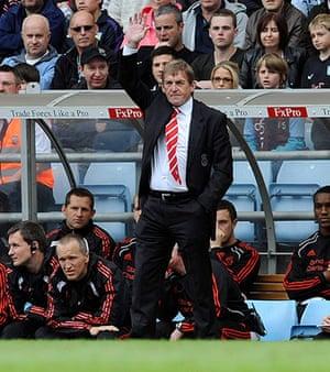 Kenny Dalglish: Aston Villa v Liverpool - Premier League