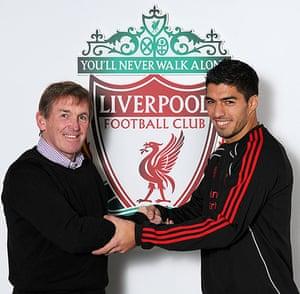 Kenny Dalglish: Luis Suarez Signs For Liverpool FC