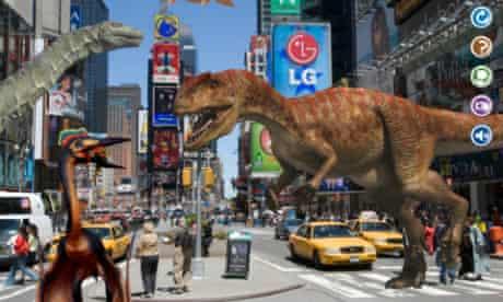 DK Dinosaur Stickers