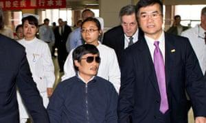 Chen Guangcheng, Gary Locke