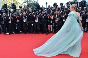 Moonrise: Member of the jury, actress Diane Kruger poses for photographers