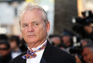 Moonrise Kingdom premier: Bill Murray adopts his puzzled look